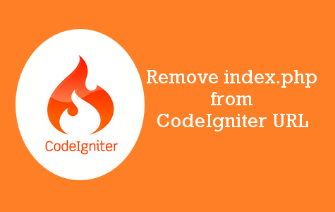 Remove index.php from url in codeigniter - onlinecode