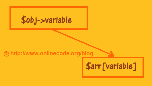 php how to add object to array