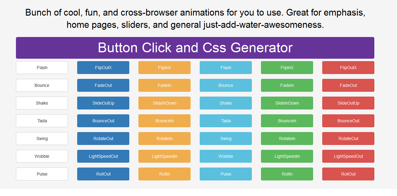 cool CSS3 Cross-Browser animations