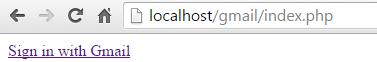 PHP Send Email Via Gmail API login