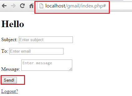 PHP Send Email Via Gmail API Signed in