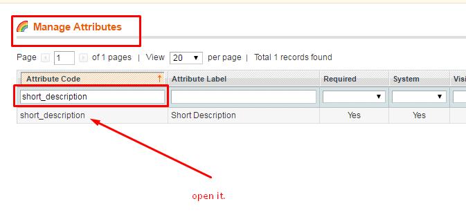 product name Mini Search short_description