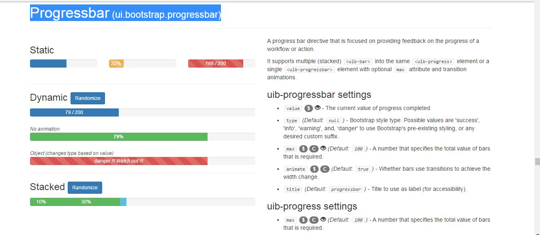 Angular Loading Bar with example and demo - Angular UI Loading Bar
