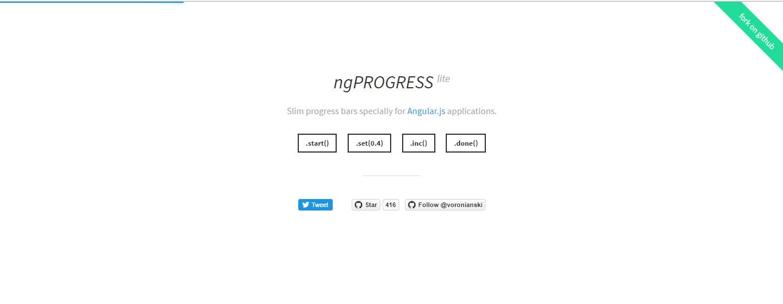Angular Loading Bar with example and demo - nProgressLite Loading Bar Demo - nProgressLite Loading Bar Demo