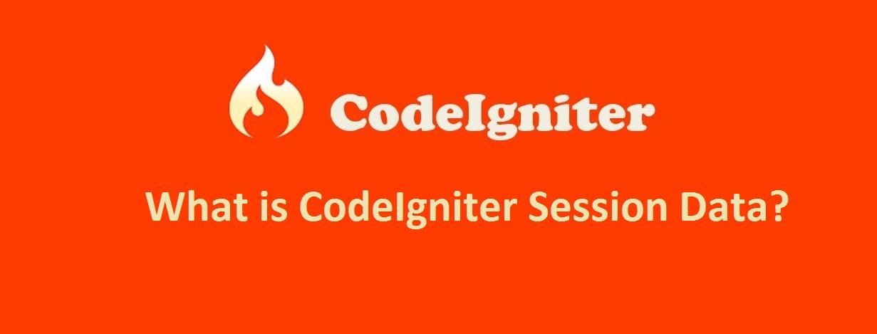 CodeIgniter Session Data Example and demo