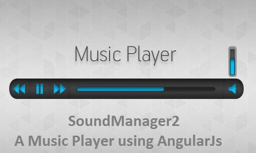 5+ AngularJS Music player Demos