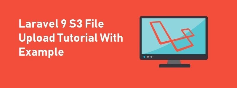 Laravel File Upload S3